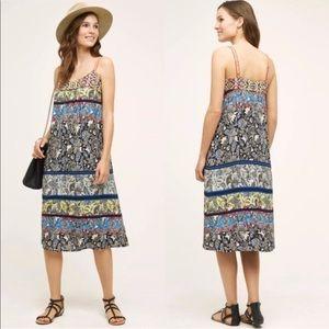 NWOT Anthro One September Cosima midi dress